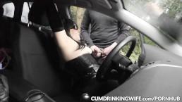 Car park gangbangs with Slutwife Marion