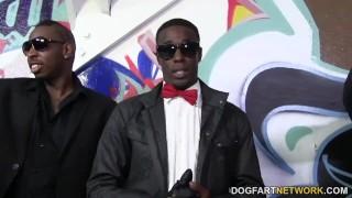 Giselle Leon gets gangbanged by black cocks Blasen germangoogirls