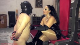 The hardships of being My collared slave - Goddess Ezada Sinn