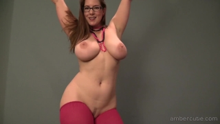 P amber dance strip masturbate brunette
