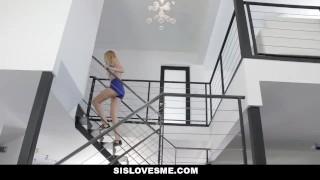 SisLovesMe - Playful Stepsis Loves Sex Games Fit tits