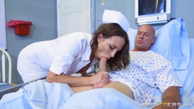 Naughty nurse Lily Love fucks her patient - Brazzers 11