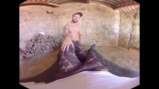 VirtualRealGay - Army bareback Rubbing masturbating