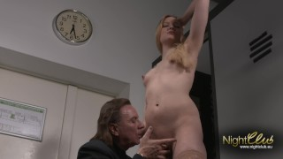 Kitty Blair - Blowjob in Pussy und Anal gefickt Sister in