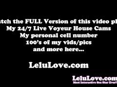 Lelu Love-Anal Plug POV Blowjob Facial