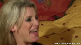 Blonde Mom Lets Son Anal Her