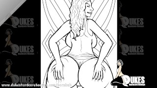 Sexy Adult Coloring Book