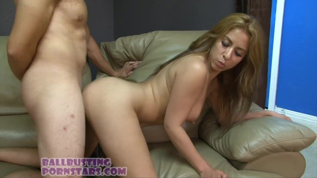 Ball busting and femdom with Camille Lixx 4