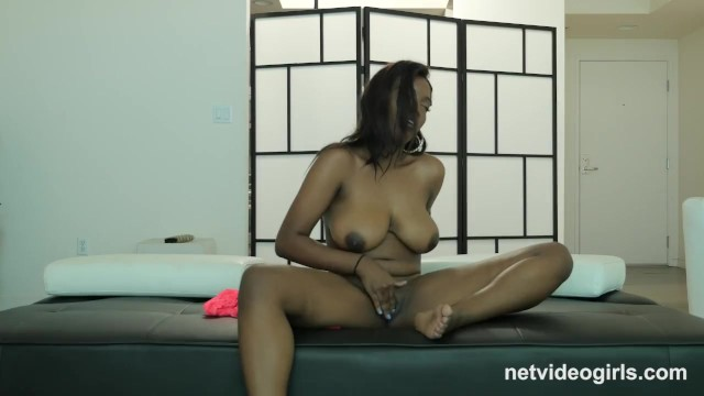 Black is busty 19yr black busty first timer creampied at calendar audition