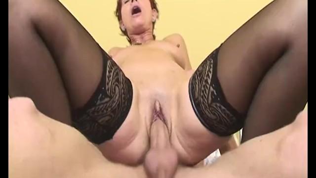 cathrine aschim granny anal sex