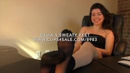 Celia's Sweaty Feet - www.c4s.com/8983/16481870