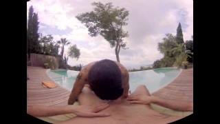 VirtualRealGay.com - Fucking at the pool