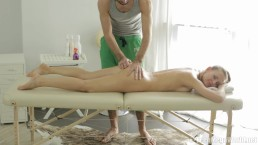 What a gorgeous young lady! Nika deserves the best massage ever