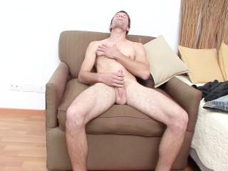 Horny stud needs to masturbate