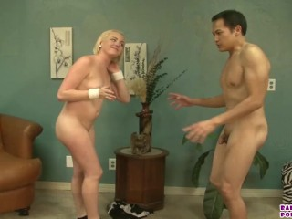 interracial cuckolding with Miley May