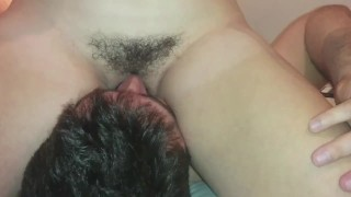 Preview 2 of cowgirl face sitting and pussy grinding