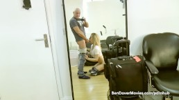 Ben Dover films himself with Chessie Kay