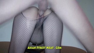 Preview 1 of Nice Slimy Anal Fuck Up Super Asian Slapper
