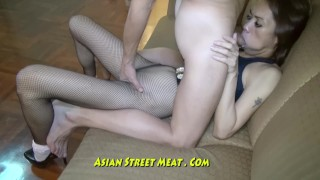 Preview 3 of Nice Slimy Anal Fuck Up Super Asian Slapper