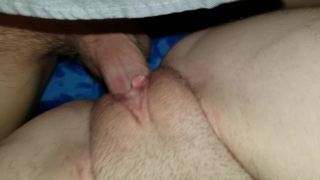 Felt too good to pull out creampie Trimmed doggy