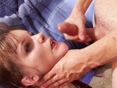 Teen cheerleader fucked by a guy from the football team