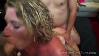 Double Vaginal Gangbang