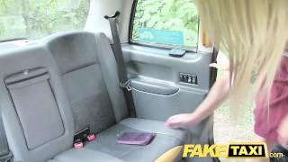 FakeTaxi Tiny blonde loves big dick