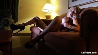 Hot and Bothered Slut Playing With Myself