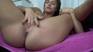 Preview 3 of Massive Squirt Orgasm By Vic Alouqua