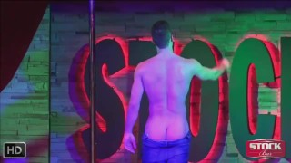 StockBar - Best Live Male Strippers from Montreal - Nov. 09th 2016