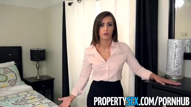 Allure amateur blow job - Propertysex - sexy real estate agent with big ass fucks boss to keep job