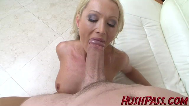 Blonde milfs fuck giant cock Sexy blonde milf struggles with biggest white cock