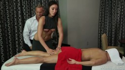 FantasyMassage Horny Husband Cheats on Bossy Wife