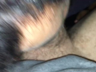 Chub fingers blows and swallows straight guy