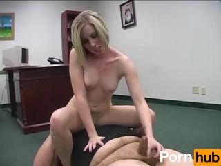 blonde femdom ballbusters - Scene 4