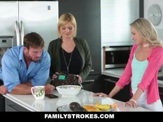 Family Strokes - Non dire alla mamma che ho scopato il patrigno