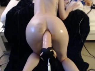 huge anal sex machine