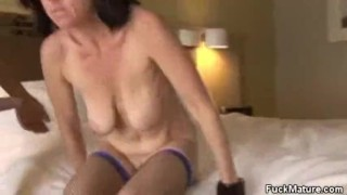 Cock cougar karen sucking old natural
