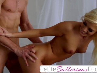 Nubiles-Porn Shaved Pussy Filled & Drilled With Huge Cock