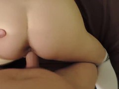 pov step brother fucks little sister and accidental creampies