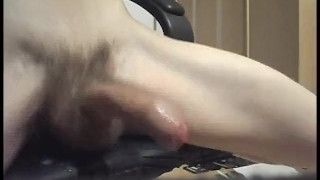 PLAYING WITH COCK WHILE ANAL PLUG - EXTERME CUMMING!!!!!!!!