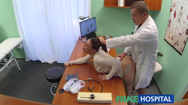 Sexy patient Fakehospital doctor gets sexy patients pussy wet