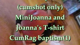 BBB preview: Mini Joanna & Joanna's Tshirt CumRag Baptism (1 of 2)