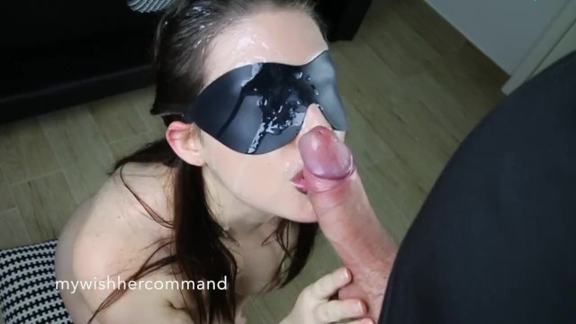 How to give a mask facial - Lips of death - big facial on masked cumslut - mw