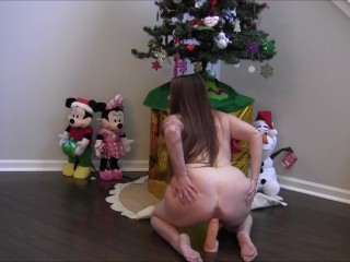 All I Want For Christmas Is Santa's Cum In My Pussy