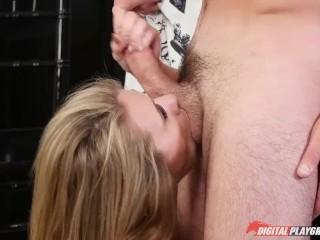 DP Star 3 – Petite Anya Olsen Deep Throat Blowjob