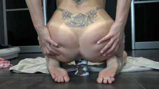 Tiny Teen Squirt, Creampie and Fuck Horse Cock by Vic Alouqua Mya riding