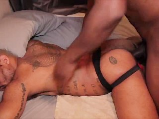 Cutler X Marks His Territory with a Big Creampie: Cutler X & Anthony Grey