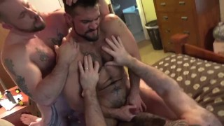 First asker's aarin pt doublepenetration threesome double