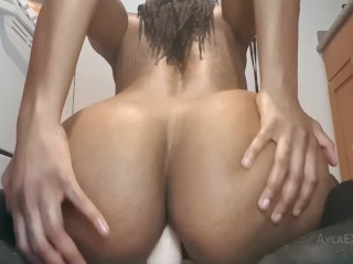 Trailer ride and butt plug tease...